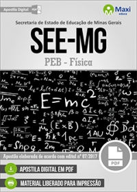 Professor de Educação Básica - Física - SEE-MG