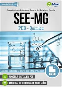 Professor de Educação Básica - Química - SEE-MG