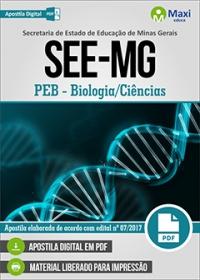 Professor de Educação Básica - Biologia/Ciências - SEE-MG