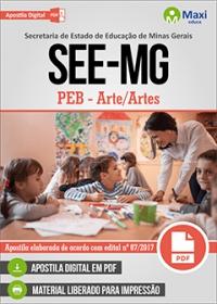 Professor de Educação Básica - Arte/Artes - SEE-MG