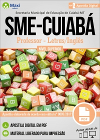 Professor - Letras/Inglês - SME-CUIABÁ
