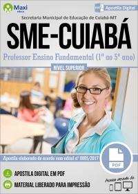 Professor Ensino Fundamental (1º ao 5º ano) - SME-CUIABÁ