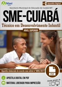 Técnico em Desenvolvimento Infantil - SME-CUIABÁ