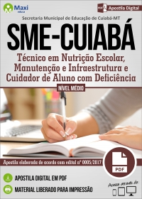 Vários cargos de nível médio - SME-CUIABÁ