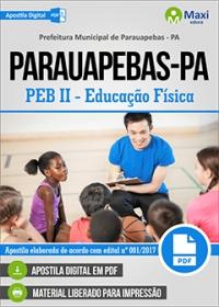 Professor - PEB II - Educação Física - Prefeitura de Parauapebas - PA