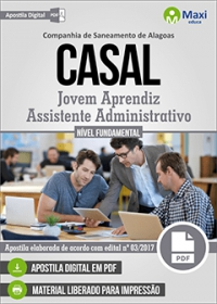 Jovem Aprendiz - Assistente Administrativo - CASAL