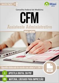 Assistente Administrativo - CFM