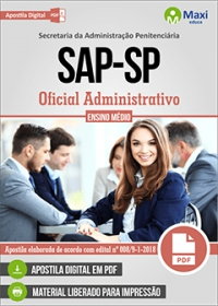Oficial Administrativo - SAP-SP