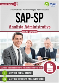 Analista Administrativo - SAP-SP