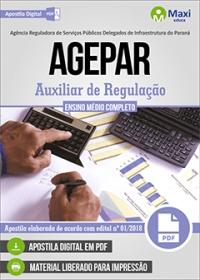 Auxiliar de Regulação - AGEPAR