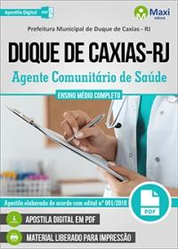 Agente Comunitário de Saúde - Prefeitura de Duque de Caxias - RJ