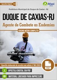 Agente de Combate as Endemias - Prefeitura de Duque de Caxias - RJ