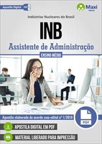 Assistente de Administração - INB