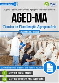 Técnico de Fiscalização Agropecuário - AGED-MA