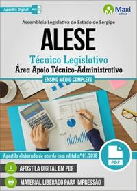 Técnico Legislativo - Área Apoio Técnico-Administrativo - ALESE