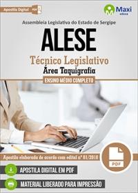 Técnico Legislativo - Área Taquigrafia - ALESE