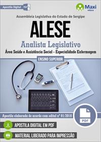 Analista Legislativo - Área Saúde e A. Social - Enfermagem - ALESE