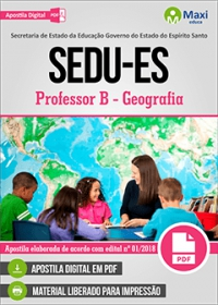 Professor B - Geografia - SEDU-ES