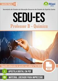 Professor B - Química - SEDU-ES