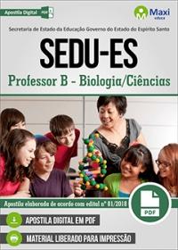 Professor B - Biologia/Ciências - SEDU-ES