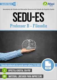 Professor B - Filosofia - SEDU-ES