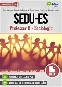 Professor B - Sociologia - SEDU-ES