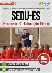 Professor B - Educação Física - SEDU-ES