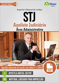 Analista judiciário - Área Administrativa - STJ