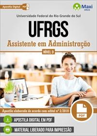 Assistente em Administração - UFRGS