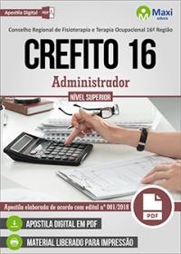 Administrador - CREFITO 16ª Região