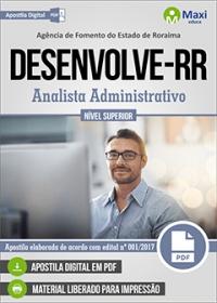 Analista Administrativo - DESENVOLVE-RR