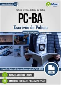 Escrivão de Polícia - Polícia Civil - BA
