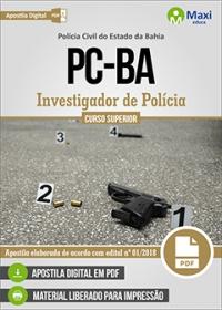Investigador de Polícia - Polícia Civil - BA