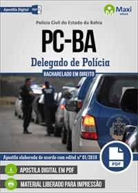 Delegado de Polícia - Polícia Civil - BA
