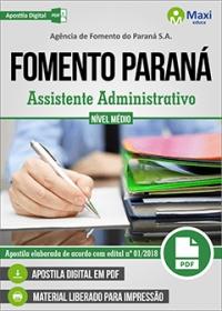Assistente Administrativo - FOMENTO PARANÁ