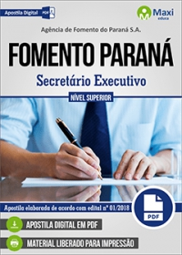 Secretário Executivo - FOMENTO PARANÁ