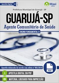Agente Comunitário de Saúde - Prefeitura de Guarujá - SP