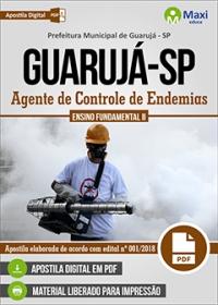 Agente de Controle de Endemias - Prefeitura de Guarujá - SP