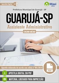Assistente Administrativo - Prefeitura de Guarujá - SP