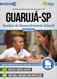 Auxiliar de Desenvolvimento Infantil - Prefeitura de Guarujá - SP