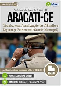 Guarda Municipal - Prefeitura de Aracati - CE