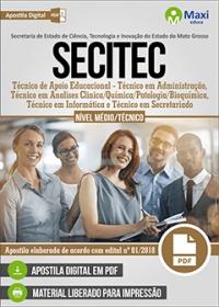 Técnico de Apoio Educacional - Técnico em Administração - SECITEC - MT