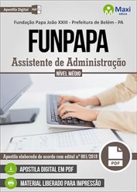 Assistente de Administração - FUNPAPA