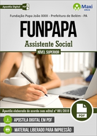 Assistente Social - FUNPAPA