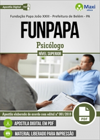 Psicólogo - FUNPAPA