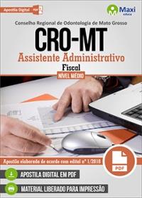 Assistente Administrativo - Fiscal - CRO-MT