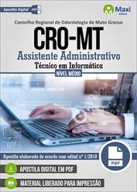 Assistente Administrativo - Técnico em Informática - CRO-MT