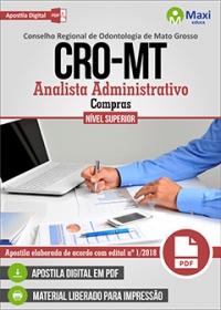 Analista Administrativo - Compras - CRO-MT