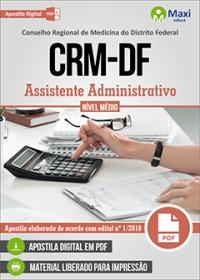 Assistente Administrativo - CRM-DF