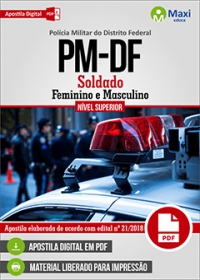 Soldado - Polícia Militar - DF